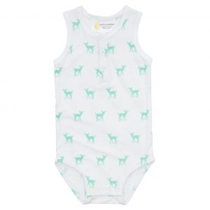 Sleeveless Romper - Deer