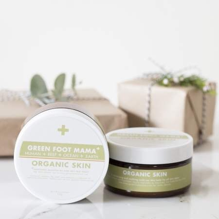 Organic Skin Balm and Bamboo Wrap Set