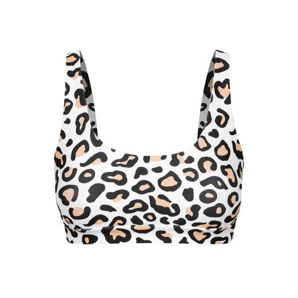 Safari Leopard - GIA Women's Bikini Top - Medium (Last one