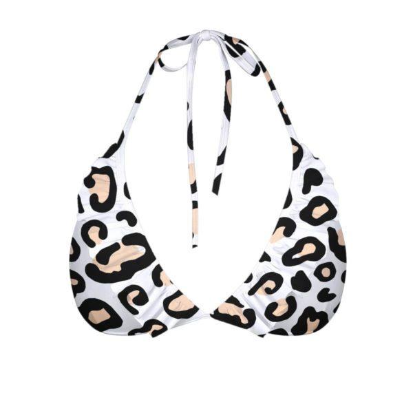 Safari Leopard - ELLE Women's Bikini Top