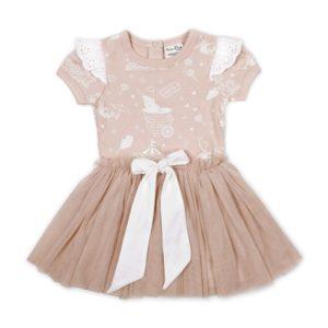 Peach Circus Tutu Dress