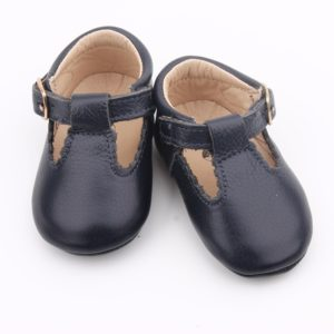 Navy T-Bar Shoes