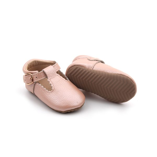 Pink T-Bar Shoes