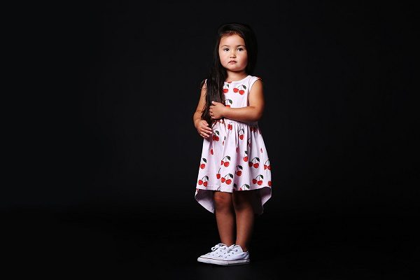 Sleeveless Cherry Dress