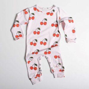 Cherry Longsleeve Bodysuit