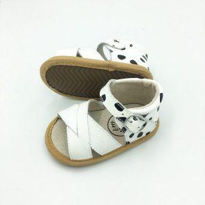 Madison Sandal - Dalmatian Print