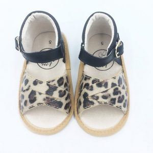 Madison Sandal - Animal Print