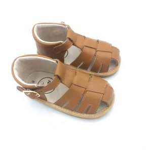 Zoe Sandal - Brown (Unisex)