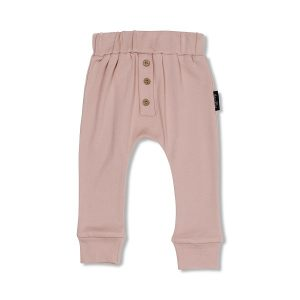 Rose Button Slouch Pants