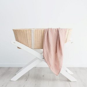 100% Organic Cotton Muslin Swaddle
