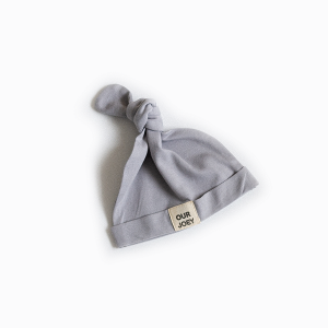 Organic Cotton Beanie grey