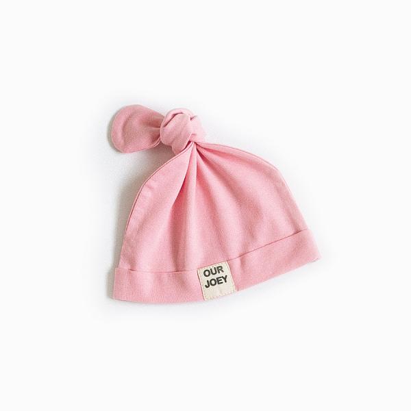Organic Cotton Beanie pink