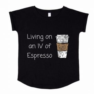 IV or Espresso Tee