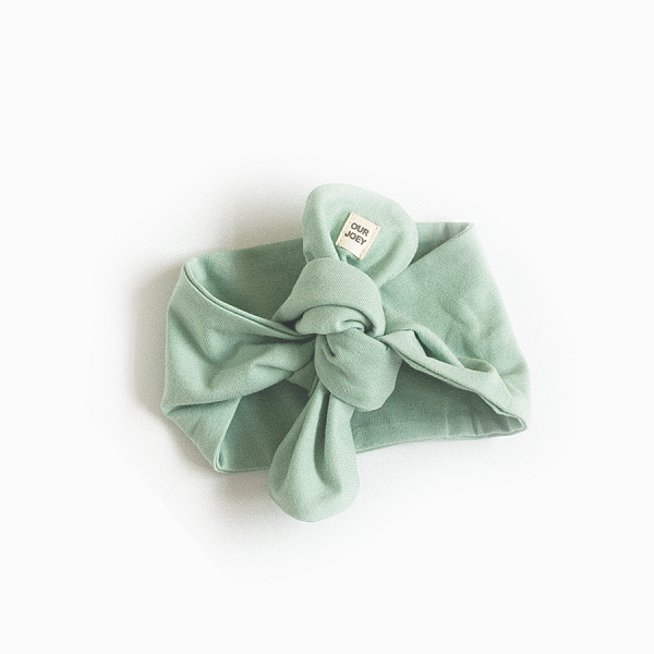 Organic Cotton Headband Green