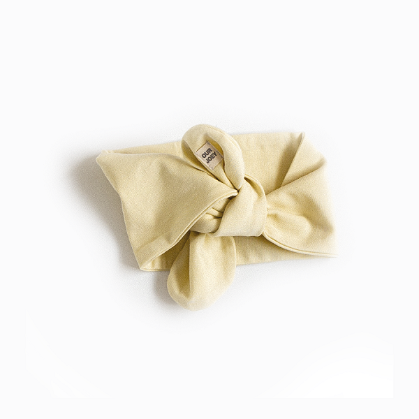 Organic Cotton Headband yellow