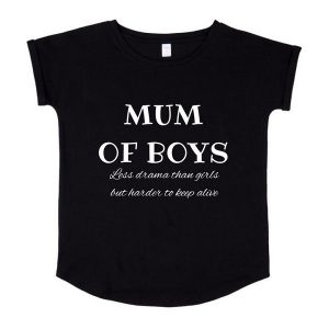 Mum of Boys Tee