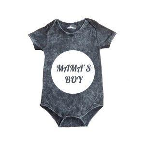 Mama's Boy Stonewash Bodysuit