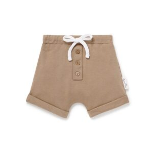Clay Button Shorts
