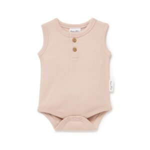Rose Dust Singlet Onesie