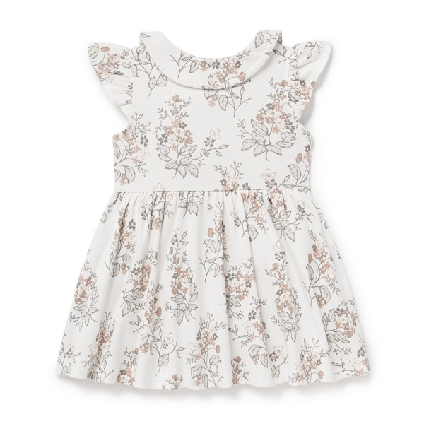 Summer Floral Button Dress