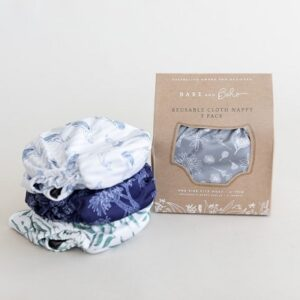 3-Pack Cloth Nappy Bundle