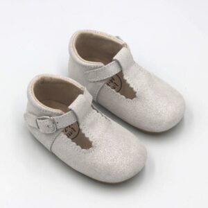 Silver T-bar Shoes