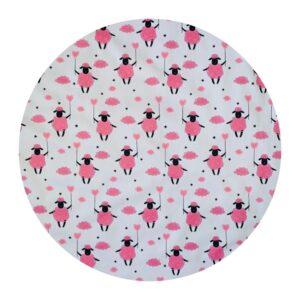 Waterproof Baby Play Mat | Pink Sheep