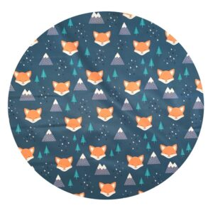 Waterproof Baby Play Mat | Winter Fox