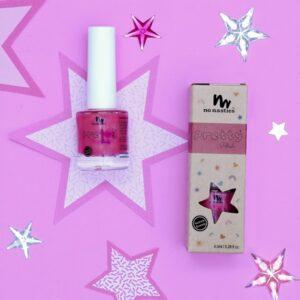 Bright Pink Water-Based Nail Polish