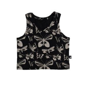 Black Butterfly Tank