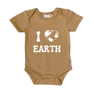 I love Earth Bodysuit