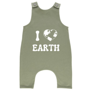 I love Earth Sloucher Romper