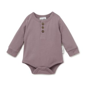 Elderflower Henley Onesie
