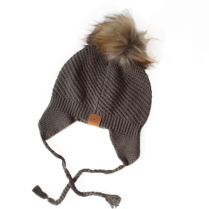 Knit Beanies - Dark Grey