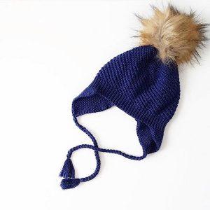 Knit Beanies - Navy