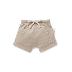 Feather Grey Pocket Shorts